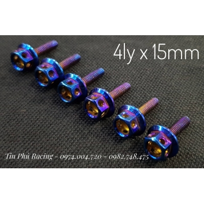 Ốc titan 4ly x 15mm
